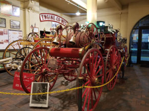 Carrage Fire engine Bells Rang by Ghosts